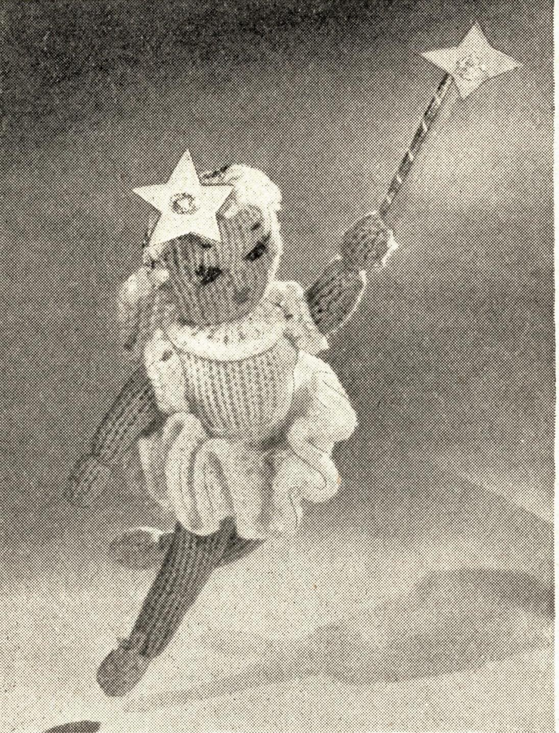 1940s toy knitting pattern christmas