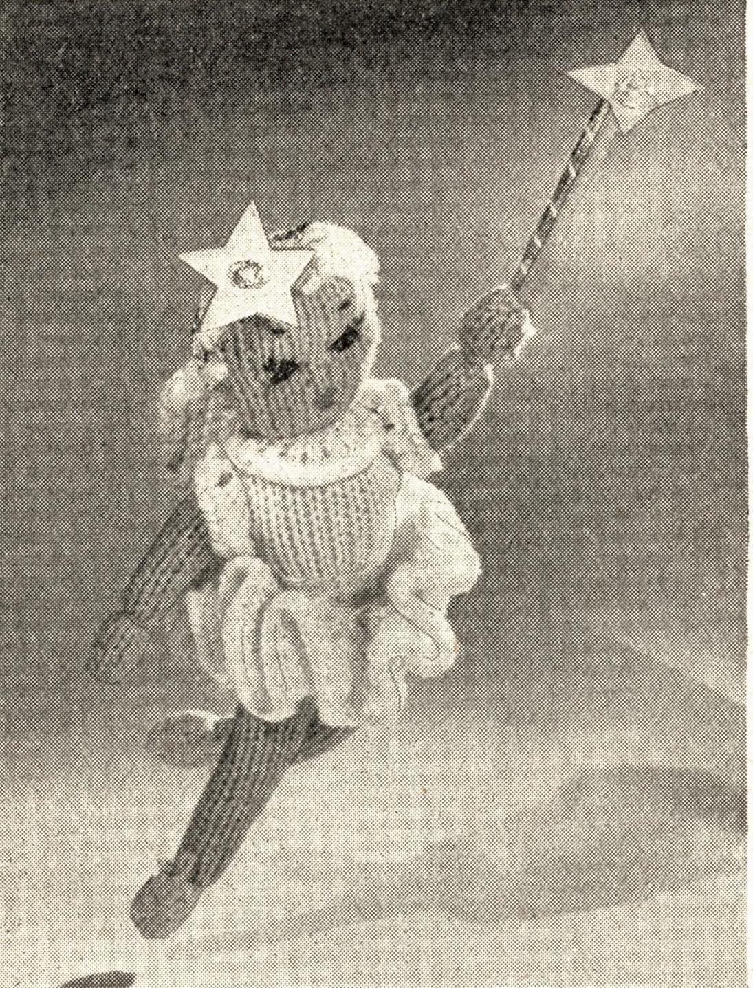 1940s toy knitting pattern christmas