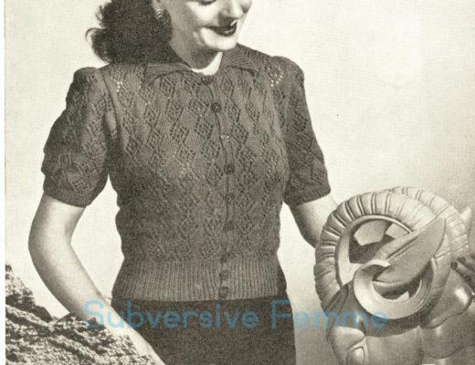 d86a8fddf6ee Free vintage knitting patterns – Subversive Femme
