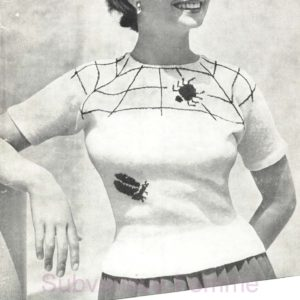 jean simmons spiderweb sweater