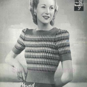 lavenda 915 knitting pattern jumper