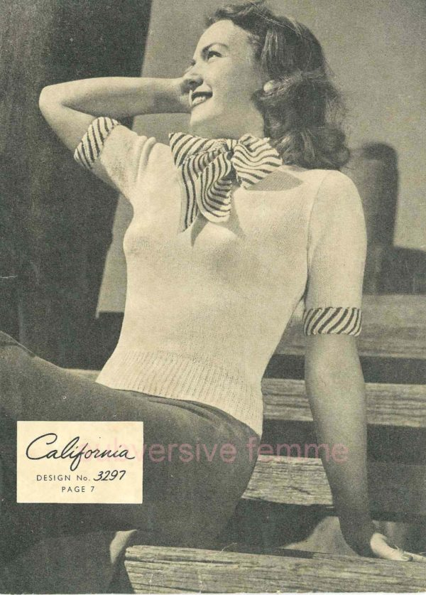 california sunglo knitting pattern