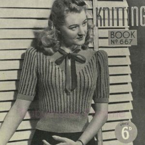1940s vintage knitting patterns free