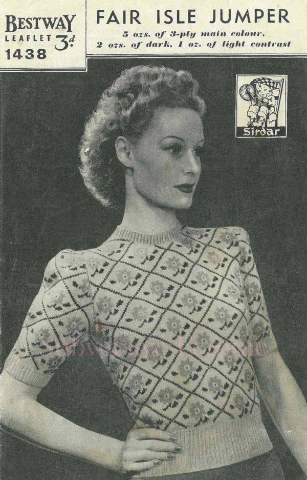 bestway 1438 knitting pattern