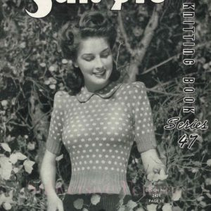 1940s sweater vintage knitting patterns