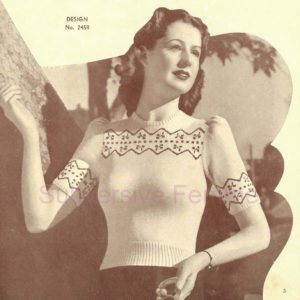 cherry fair isle knitting pattern sunglo