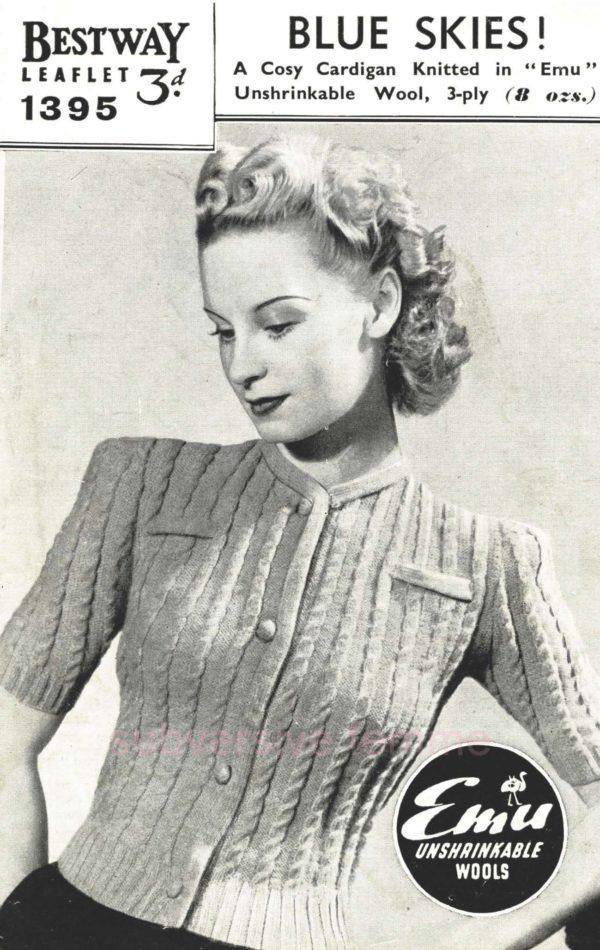 vintage knitting pattern pdf bestway