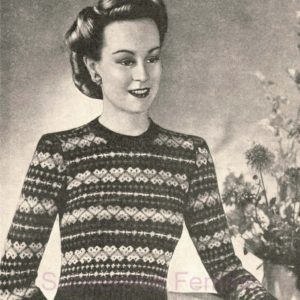 bestway 970 vintage fairilse knitting pattern