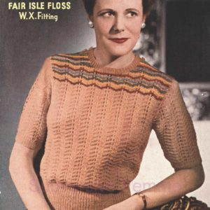 sirdar 1239 vintage knitting patterns pattern 1940s