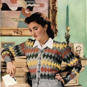 stitchcraft knitting patterns vintage 1940s