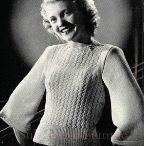 1940s knitting pattern free vintage patterns australia