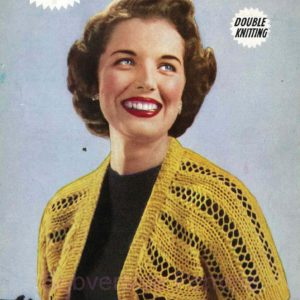 weldons B1272 vintage knitting patterns