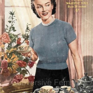 sirdar 1332 vintage knitting patterns