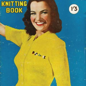 vintage hollywood knits knitting patterns 1940s