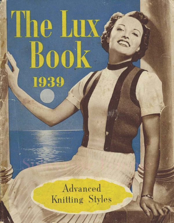 the lux knitting book 1939 vintage knitting patterns