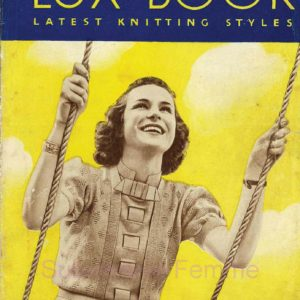 lux knitting book 1940 vintage patterns