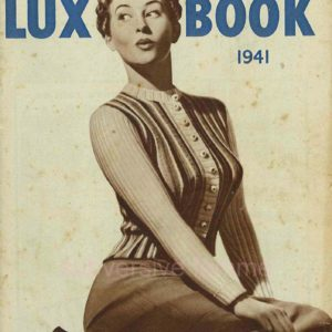 lux knitting book 1941 vintage knitting patterns