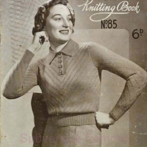 patons and baldwins specialty knitting book 1930s vintage knitting patterns