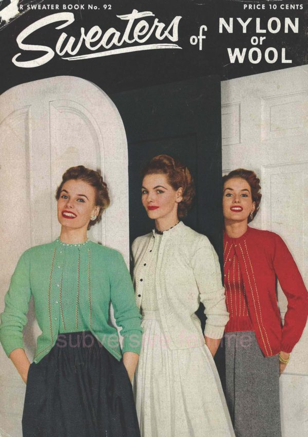 vintage knitting pattern download