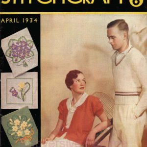 stitchcraft magazine april 1934 1930s vintage knitting patterns