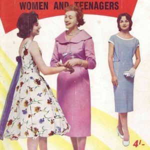 enid gilchrist patterns for women and teenagers pattern drafting vintage sewing