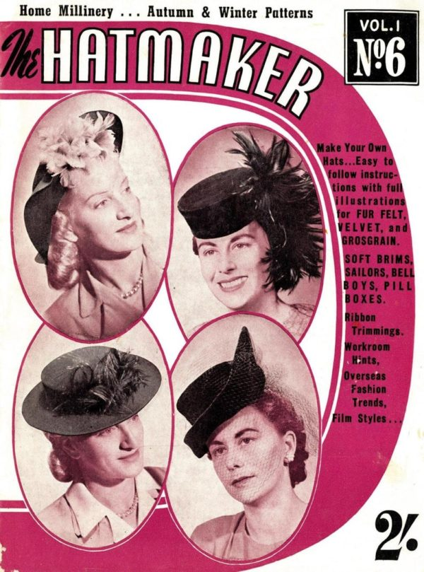 the hat maker millinery booklet