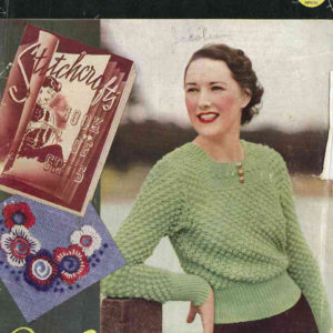 stitchcraft magazine October 1936