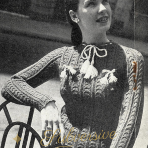 1940s knitting patterns stitchcraft