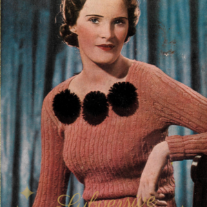 stitchcraft magazine 1936 knitting patterns 1930s