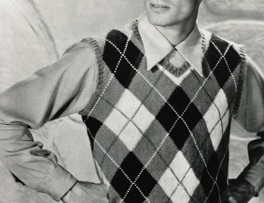 free vintage knitting patterns 1950s mens