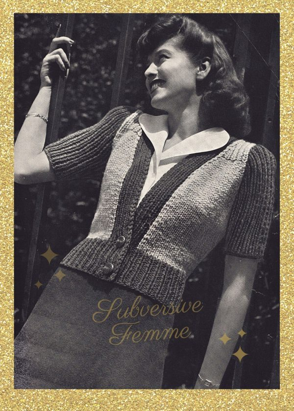 vintage knitting lady vintage knitting patterns 1940s