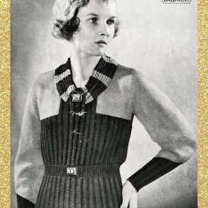 vintage knitting patterns 1930s