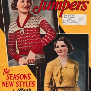 1930s vintage knitting patterns fashion