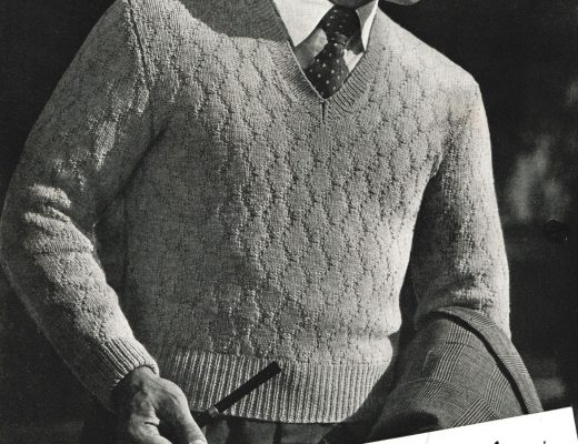 vintage knitting patterns 1950s