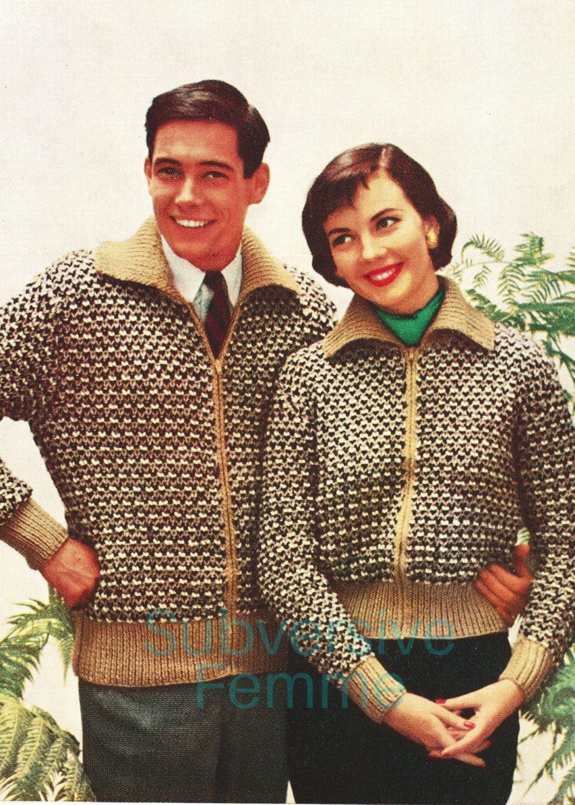 free vintage knitting patterns